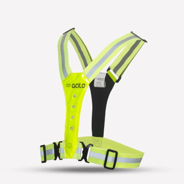 LED-Safer-Sport-Vest-Neon-Yellow-Side-GATO-Sports